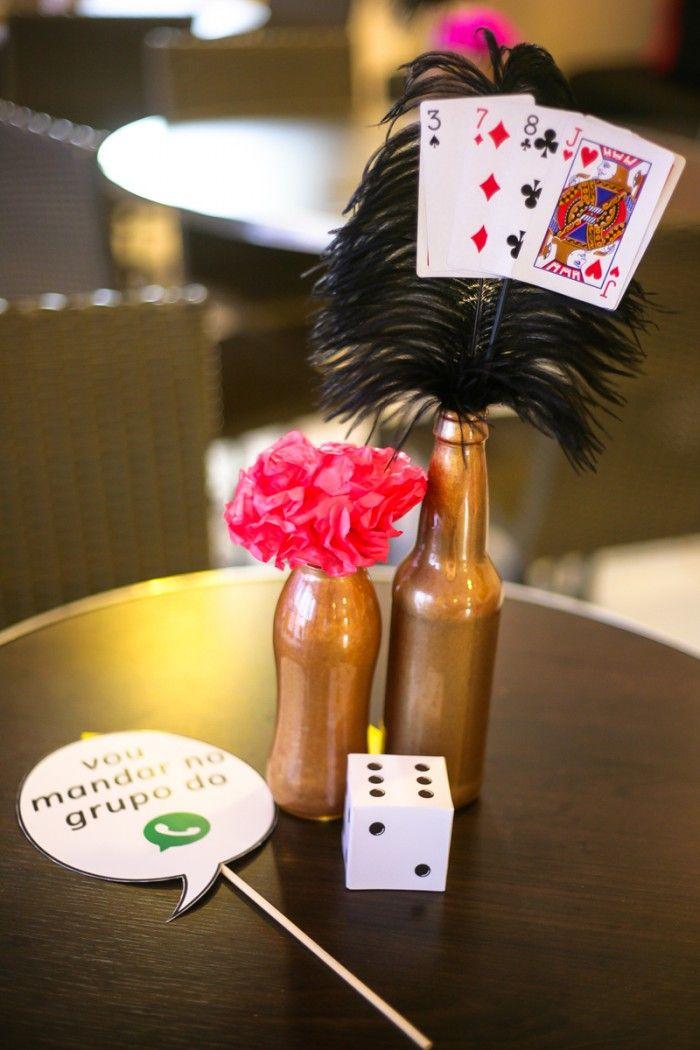 """Chá de panela com tema """"Las Vegas"""""""