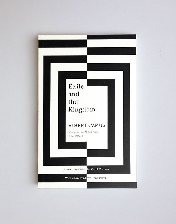 Typography  Exile and the Kingdom // Albert Camus / design Helen Yentus / publisher Vintage