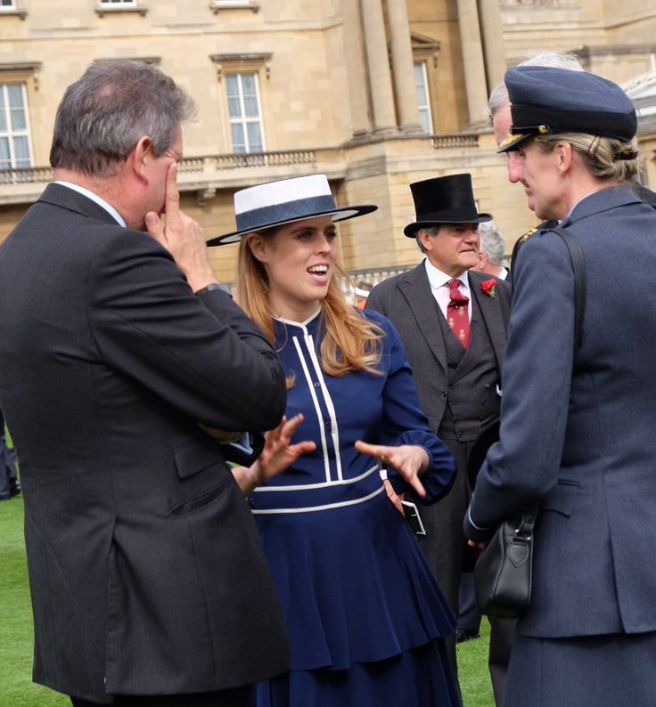 The Royal Family (@RoyalFamily) on Twitter:  Queen's Garden Party, Buckingham Palace, May 16, 2017-Princess Beatrice