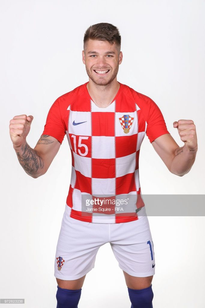 Duje CaletaCar 15 of Croatia poses during the official