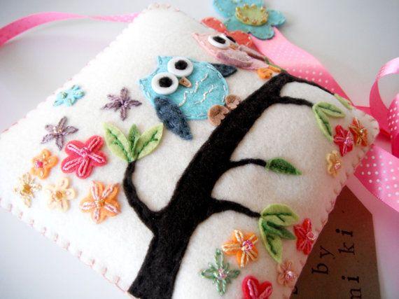 Decoración para la habitación chica en de MiKi lana fieltro pelo Clip Holder-Beutiful!! Gran y especial presentan para baby shower. :)    ** tamaño: 6