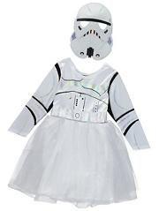 Stormtrooper Fancy Dress Costume AW16