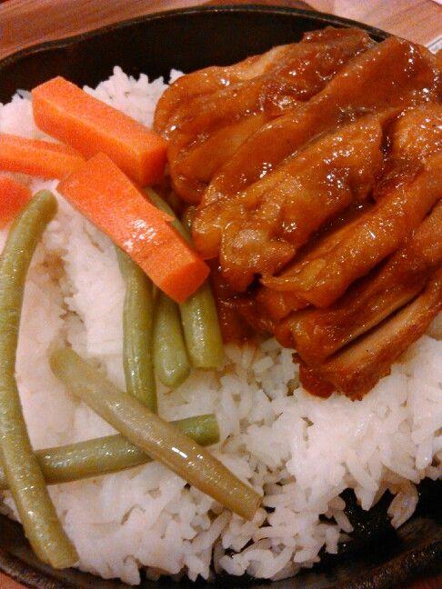 Nasi Ayam Oriental