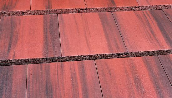 English clay roof tile