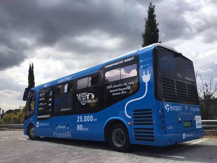 Primul oraș din România cu autobuze electrice. Vezi aici foto: