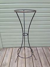 Tall Vintage Metal plant stand  - pot holder/flower bucket holder.