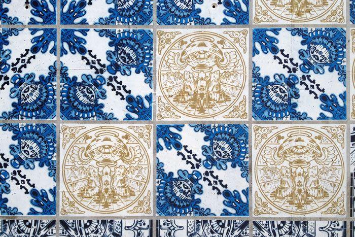 "Add Fuel   ""Herança Viva""   Figueira da Foz   2013  [© Lara Seixo Rodrigues] #Azulejo #AzulejoDoMês #AzulejoOfTheMonth #AddFuel  #FigueiraDaFoz"
