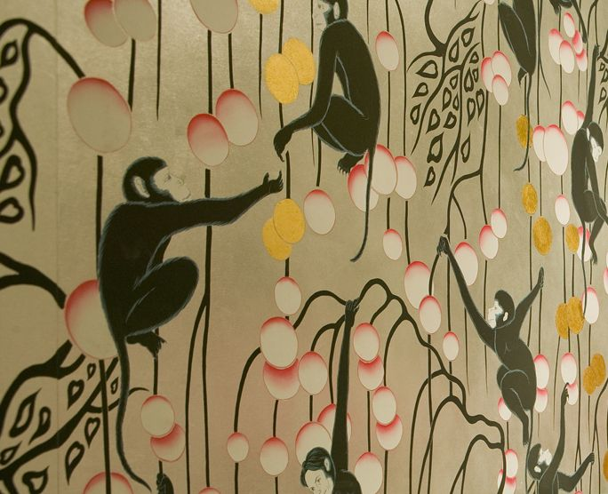 De Gournay makes the most incredible wallpapers , how about this one?