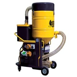 The V-75E is an economical vacuum cleaner specifically designed for superfine dust extraction following the floor grinding and polishing process. The industrial vacuum continuously disposes using a Longopac; However, the V-75E has a smoother structure making it more flexible and economical.
