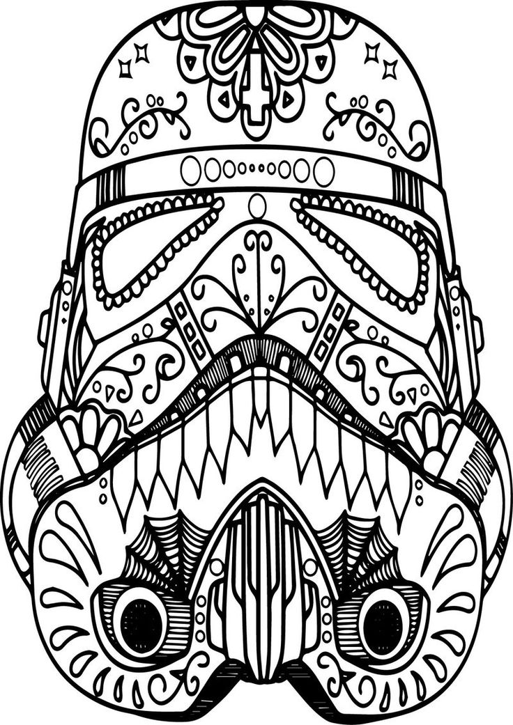 Mandala Mask Skull Coloring Page. Also see the category to ...