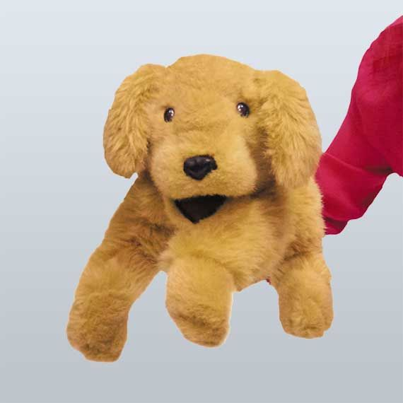 """Joey"" Hand Puppet - Guide Dogs Queensland"