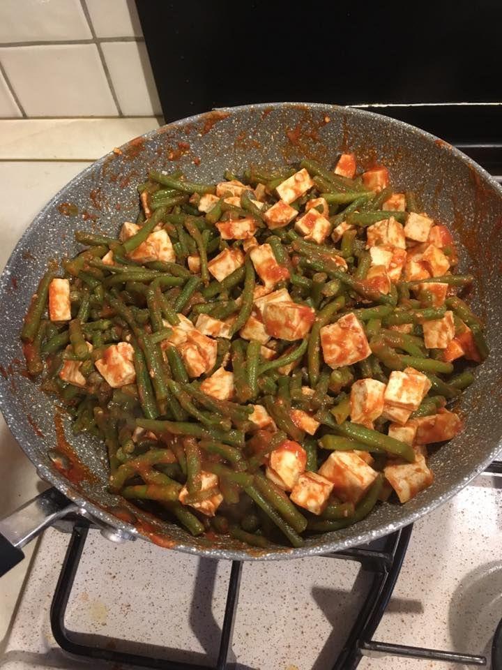 Tofu saltato in padella