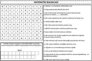 Matematik bulmacaları