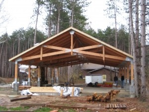 Rv shed pavillion pole barn ideas pinterest oregon for Rv shed ideas