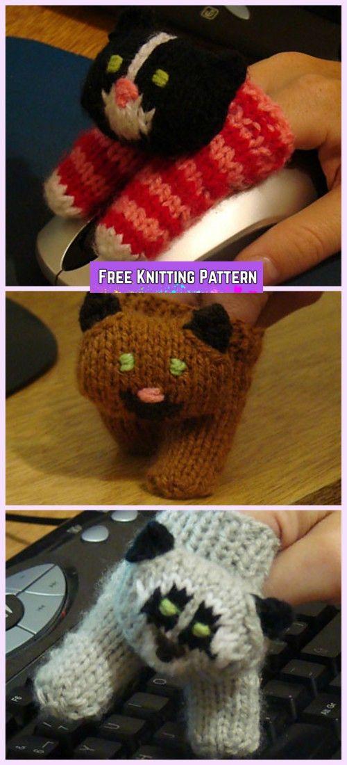 Knit Two Finger Puppets Free Knitting Pattern