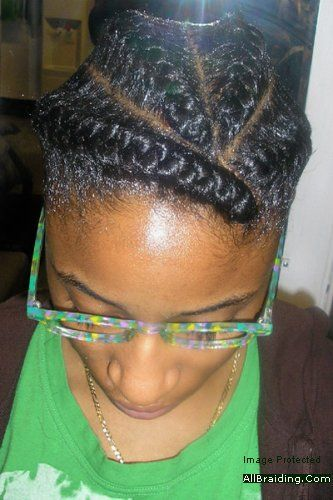 African Fishbone Braids African Fishtail Braids