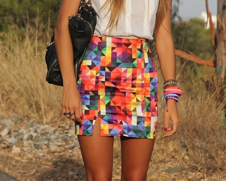 colorful skirt......brights