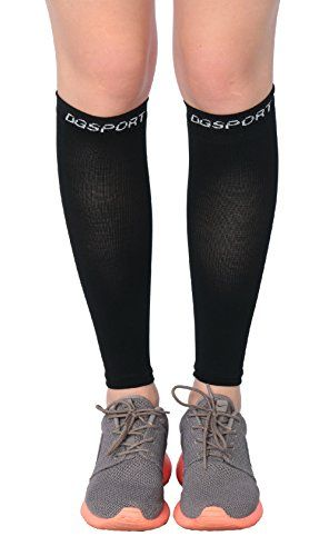 Calf Compression Sleeve - Leg Compression Socks - Ease Shin Splits & Calf Pain - Protect Your Legs While Running & Cycling - Ideal for Nurses, Waitresses & Travel (Meduim) -- Find out more about the great product at the image link.