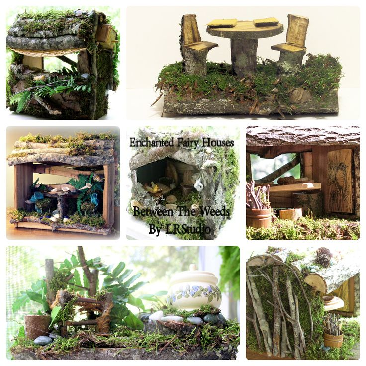 Woodland fairies searching for fairy house gifts for Hobbit house furniture