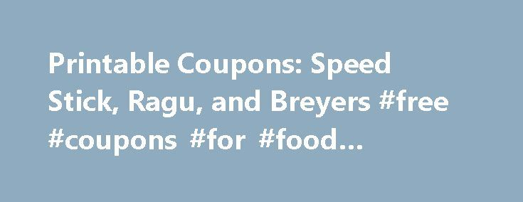 Printable Coupons: Speed Stick, Ragu, and Breyers #free #coupons #for #food #shopping http://coupons.remmont.com/printable-coupons-speed-stick-ragu-and-breyers-free-coupons-for-food-shopping/  #ragu coupons # Manufacturers put coupons out by area code to reach a targeted group of buyers. These are meant for that area only. I feel like when you put in an area code that is outside your region you are committing a form of coupon fraud. Maybe this is why there is a huge error and noone can get…
