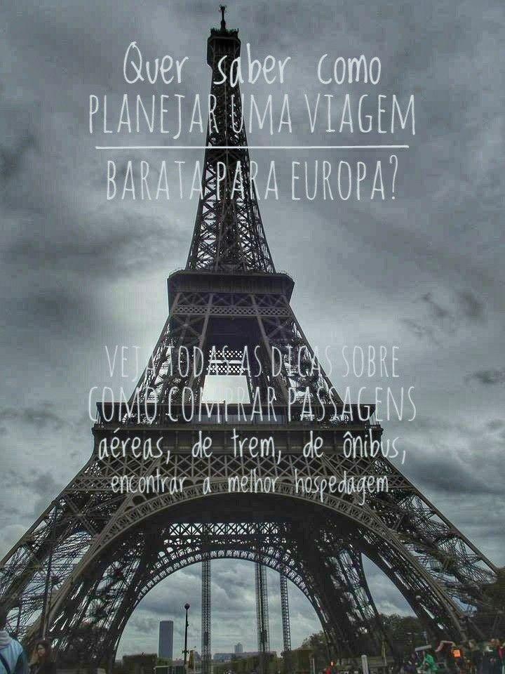 Eurotrip! Viajando pela Europa gastando pouco!