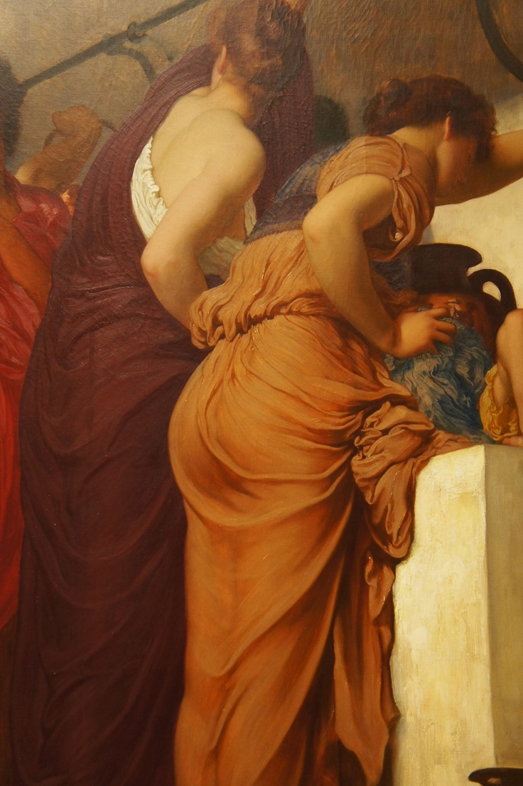 Captive Andromache (1888), Frederic, Lord Leighton