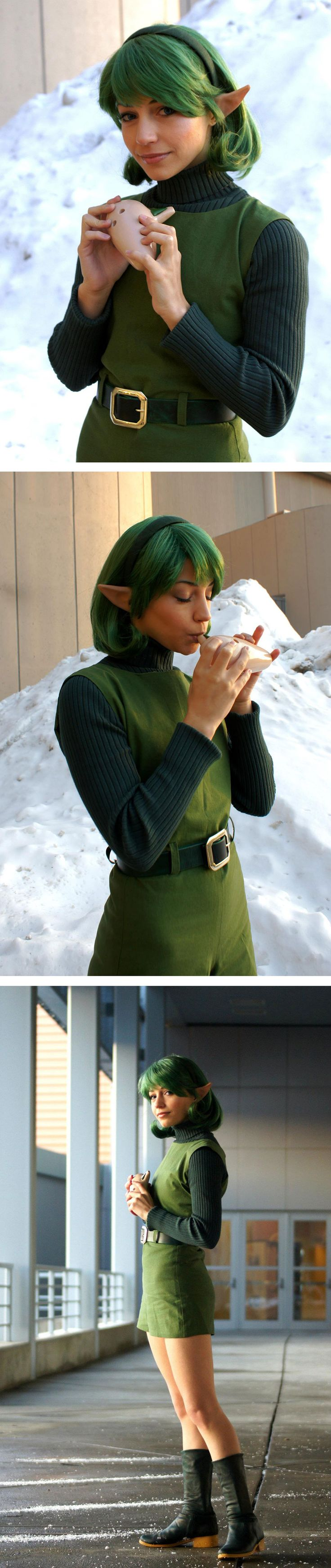Saria from Zelda by Michelle Morse