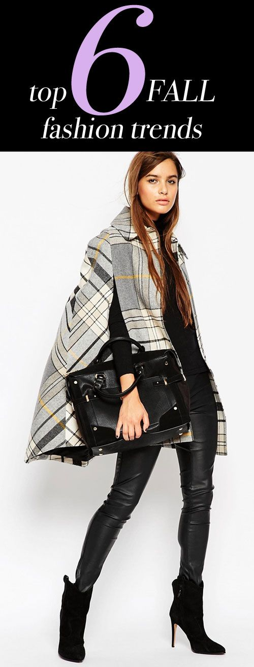 The top 6 fall fashion trends to know this season.