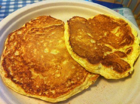 Simple Protein Pancakes (Blogilates Pre-Contest Pancakes) Recipe