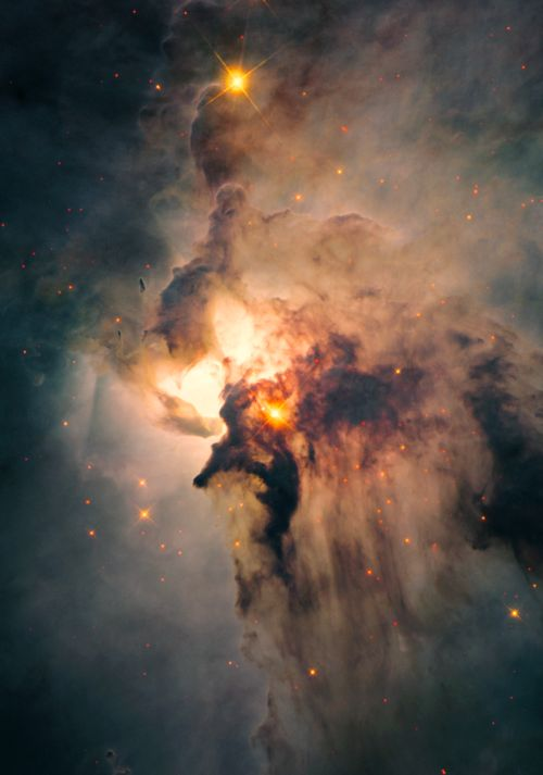 levantineviper: The Lagoon Nebula in the constellation Sagittarius; Image credit: NASA/ESA Hubble Space Telescope