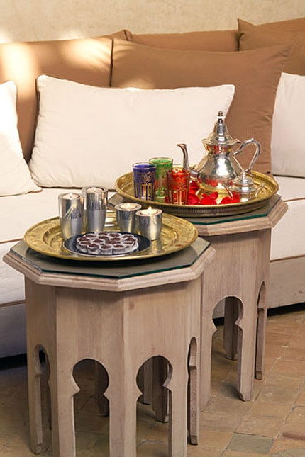 Good places for Nuevo Living Enna Side Table Large Clear