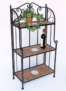 Decorative Metal Shelving Unit Vintage Google Search
