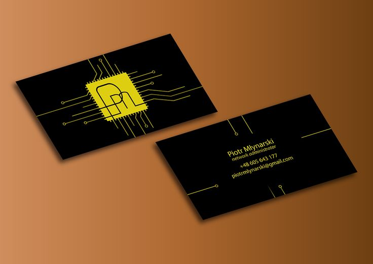 Creative business card for Network Administrator on Behance - resume business cards