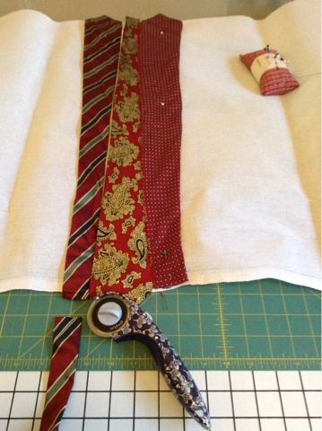 Sew And Tell Quilts: Simple Necktie Rug Tutorial