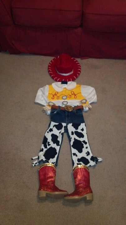 jessie from toy story toddler halloween costume - Toddler Jessie Halloween Costume