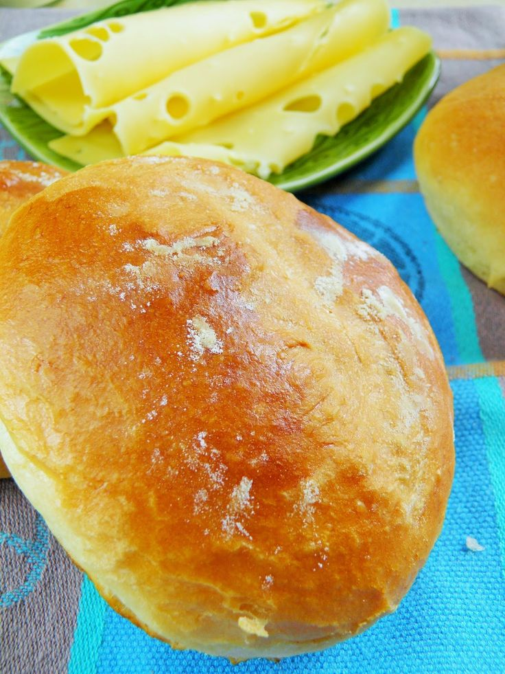 Bułeczki śniadaniowe z majonezem (pyszne do do hamburgerów) | sio-smutki…