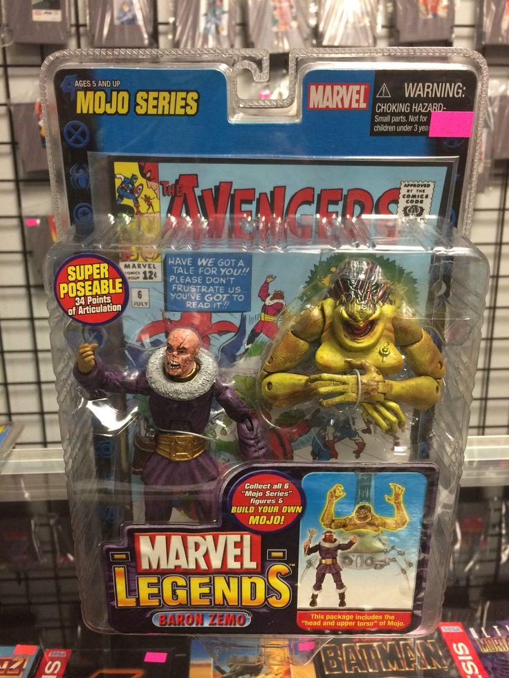 Marvel Legends Mojo Series Baron Zemo 2006