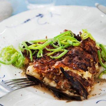 GI-lammfärsgratäng med getost - Recept - Tasteline.com