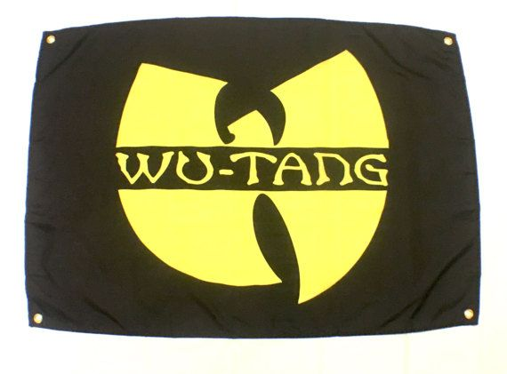""""""" wu tang clan """"24"""" x 36"""" high quality fabric poster, made from fabric made to last and collected, easy and quick to hang"""