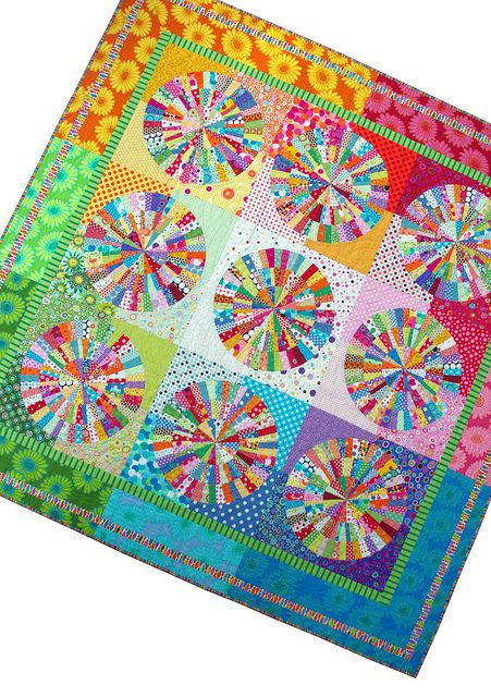 Spot On - Broken Dishes Quilt 2007