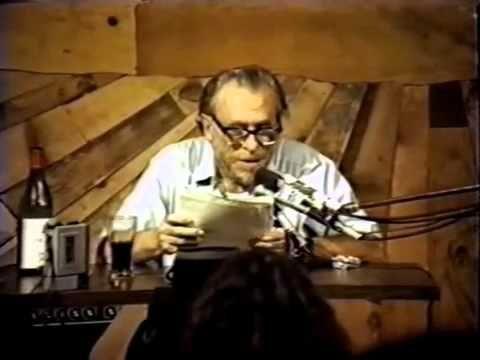 Charles Bukowski's last poetry reading - The Last Straw Rare Footage - YouTube