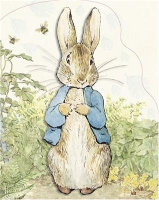 Peter Rabbit by Beatrix Potter. Have collected many Beatrix Potter items over the years, But her prints/books are my most cherished.