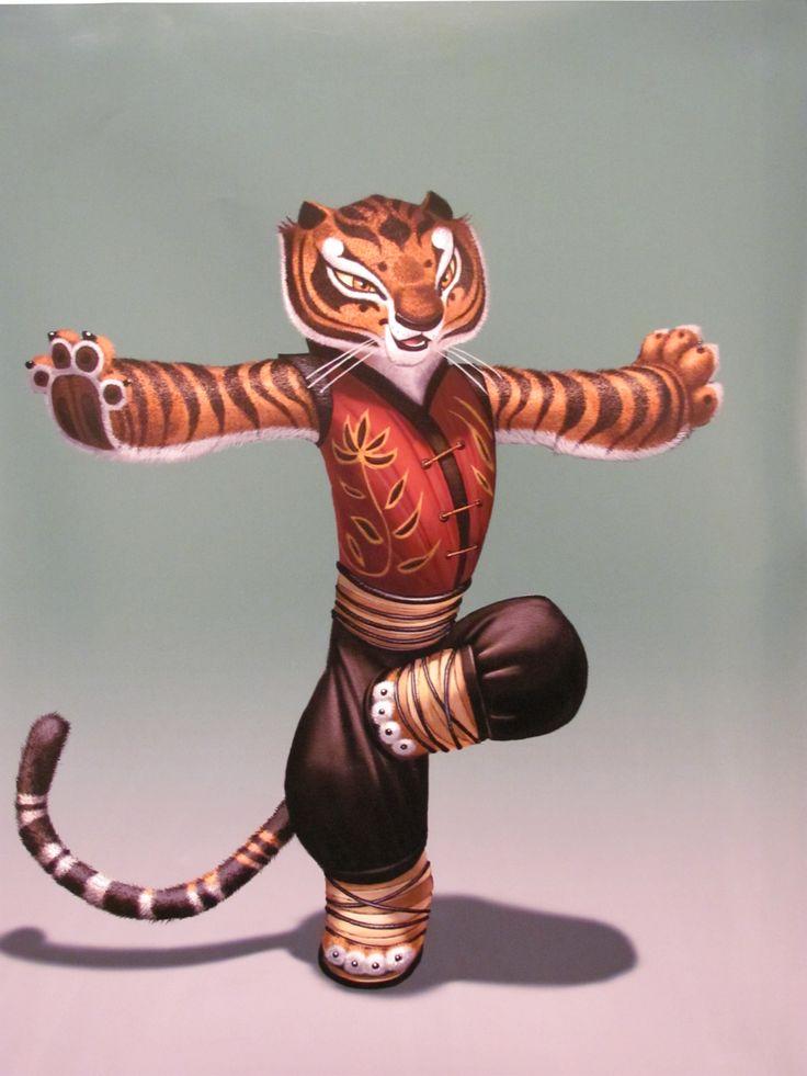 Kung fu panda tiger - photo#2
