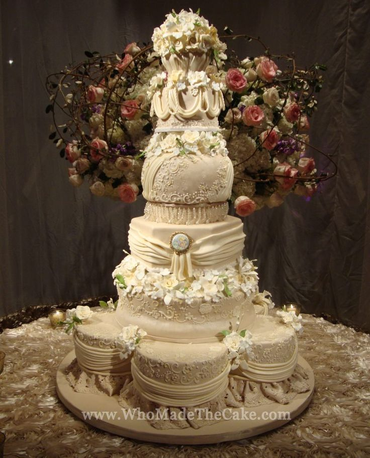 17 best images about wedding cakes with puff ball layer on pinterest wedding fondant lace and. Black Bedroom Furniture Sets. Home Design Ideas