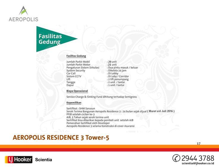 24 best Aeropolis Residence 3 - Tower 5 images on Pinterest Chang - fresh blueprint sistem informasi adalah