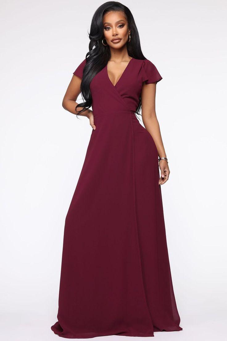 Wendy Wrap Maxi Dress Burgundy Maxi Dress Dresses Maxi Wrap Dress [ 1104 x 736 Pixel ]