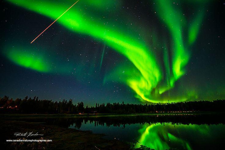 The Canadian Nature Photographer - Aurora Borealis Portfolio by Robert Berdan