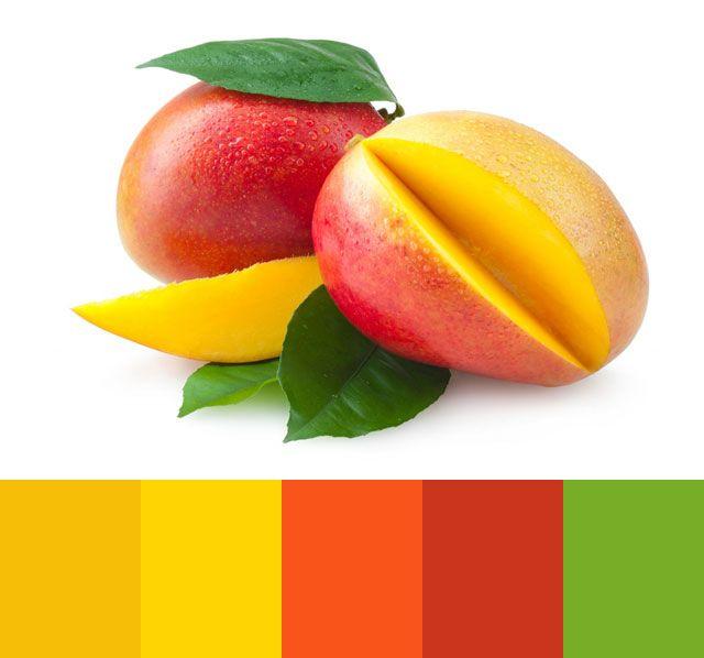 Mango Color Palette