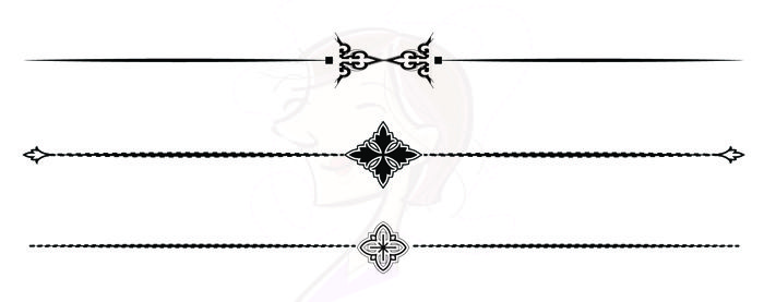 cross divider lines clipart