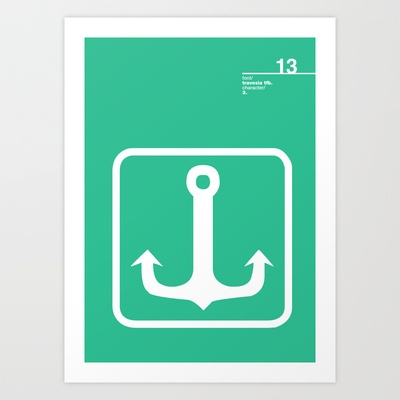 13_travesiatfb_3 Art Print by Iris & Floss - $18.00